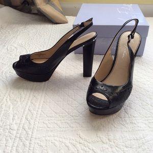 Marc Fisher Platform Sandals with high heels 7.5